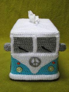 Crochet caravan tissue box                                                                                                                                                                                 More
