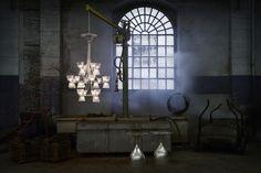 Baccarat – Candy Light. Chandelier. Design: Jaime Hayon