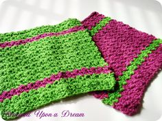 My Favorite Crocheted Kitchen Dishcloths! Great Mothers Day Gift