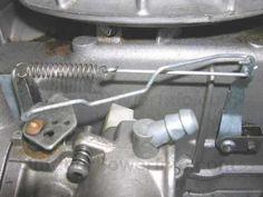 Tecumseh Carburetor Linkage Picture   Tecumseh Series 11 Carb - Governor/throttle linkage