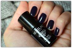 semilac black plum 089
