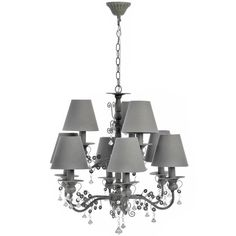 Niamh 9 Lamp Chandelier from Serendipity Home Interiors