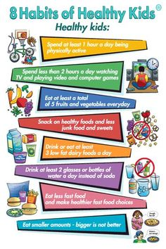 healthy habits for kids | MEDIA & PROJECT CONSULTATION_8 Habits of Healthy Kids | Jackie Newgent