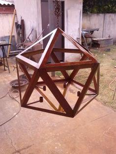 lampara  icosaedro