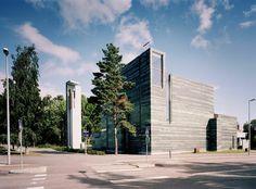 Church & Parish Center - Jarvinen & Nieminen - Laajasalo (2003)
