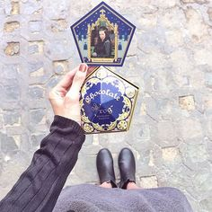 Collect Every Chocolate Frog Card