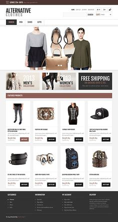 OsCommerce 2.3 Theme #47560