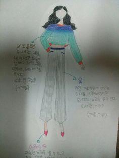 2015년 1월 2일,나의 첫 패션스케치! Friday,january 2 my first fashion sketch!