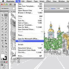 Quick Tip: Exporting to Other File Formats in Adobe Illustrator (via vector.tutsplus.com)