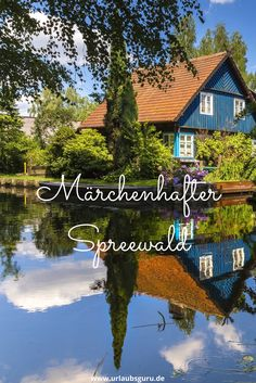 So beautiful is the Spreewald in Brandenburg - The Spreewald is a magical landscape of rivers, forests and little houses that look as if they had - Travel Around The World, Around The Worlds, Reisen In Europa, Beautiful Places In The World, Germany Travel, Places To See, Travel Inspiration, Travel Destinations, Travel Photography