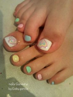 Toes design nails Gabygarcia