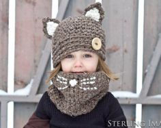 Kitty Cowl Set