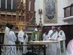 Messe à l'église de La Madeleine et repas à la Chapelle de Lavéra