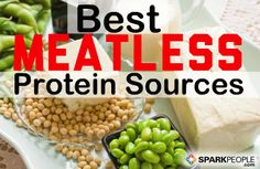 How to Meet Your Protein Needs without Meat | via @SparkPeople #vegetarian #vegan #nutrition