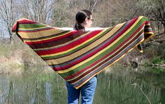 Ravelry: Time Traveller's Shawl pattern by Elizabeth Abate