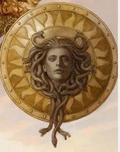 Image result for medusa on shield