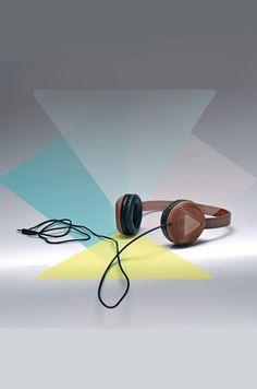 Căștile prototip Studio, din lemn: Atipic - igloo.ro Manual, Studio, How To Make, Simple Lines, Textbook, Studios
