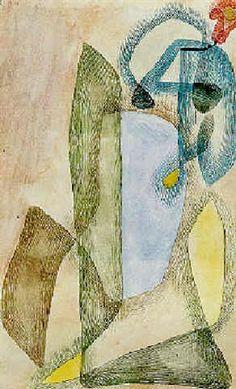 Blume im Maerz by Paul Klee 1913