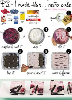 no bake desserts...yum!
