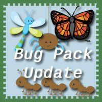 Free Bug Pack Update! Over 40 pages added for kids 2 to 7 - 3Dinosaurs.com