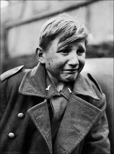 German child soldier near the end of WWII.