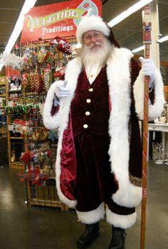 Wonderworld Productions Father Christmas, Santa Christmas, Vintage Christmas, Santa Costumes, Christmas Costumes, Mrs Claus, Santa Clause, Elf The Musical, Santa Real