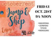 OctoberFest: Jump & Shop http://easttexas.citymomsblog.com/local/recap-octoberfest-jump-shop/