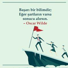 Başarı bir bilimdir; Eğer şartların varsa sonucu alırsın... başarı ile ilgili özlü sözler resimli Oscar Wilde, Movies, Movie Posters, Films, Film Poster, Cinema, Movie, Film, Movie Quotes