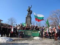 В Карлово, Смолян и Варна развяха трибагрениците срещу промените в учебните програми