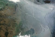 Winter Haze over Bangladesh : Image of the Day : NASA Earth Observatory