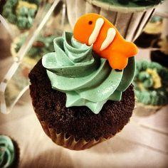 Finding Nemo Cupcake #cupcakes #cupcake
