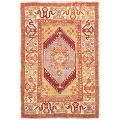 Anatolian Rug In Cream And Khaki