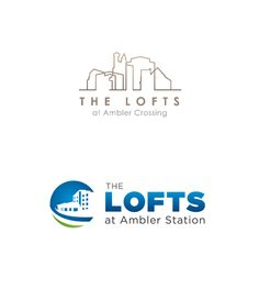 The Lofts logo by We Heart Websites.