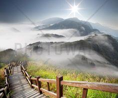 Infinite Stairway - Fototapeter & Tapeter - Photowall