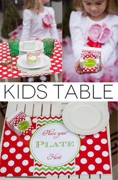 Christmas Table Christmas Pinterest Christmas Tables And