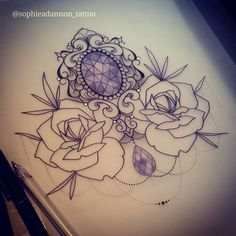 "425 Likes, 4 Comments - sophie adamson (@sophieadamson_tattoo) on Instagram: ""New design up for grabs Stop by The Projects Tattoo or Pm/ email me for info>…"""