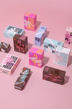 Easy Peasy Indie Cosmetic Brand and Packaging Designed by CFC / World Brand & Packaging Design Society