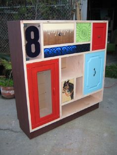 donkey cabinet great upcycled furniture and more by Thomas Wold