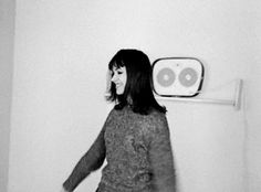 "Dancing never looked so retro. Anna Karina in Godard's ""Le Petit Soldat"" aka ""The Little Soldier"", 1960 but released in 1963."