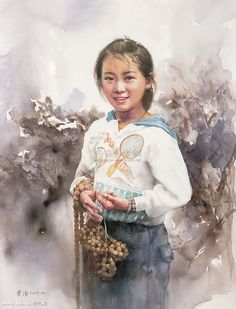 Watercolor by Shi Tao (史涛)Chinese