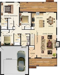 Mapleton Floor Plan …