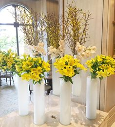 Modern Floral Décor with Orchids & Branches Wedding Bells, Wedding Day, Flower Decorations, Table Decorations, Flower Vases, Flowers, Brighten Your Day, Event Decor, Luxury Wedding