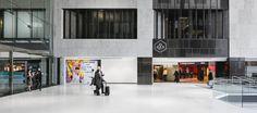 LEMAYMICHAUD | INTERIOR DESIGN | ARCHITECTURE | MONTREAL |  Complexe Desjardins – Tour Sud Architecture Design, Tour, Architecture Layout, Architecture Illustrations, Architecture Drawings