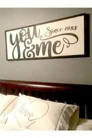 You & Me Wood Sign, Bedroom Wall Decor, Modern Farmhouse Anniversary Gift, Above the Bed Sign, Master Bedroom Decor Home Bedroom, Bedroom Decor, Wall Decor, Bedroom Furniture, Bedroom Small, Cozy Master Bedroom Ideas, Bedroom Signs, Budget Bedroom, Bedroom Black