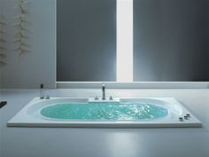 Model : RIVER FLOW Size: 2000 x 1050 x 480 mm  • Hydro System • Air System • 3 Side Panel • Faucet Accessories • Watch Circulation System • Underwater Light • Computer Panel http://www.colstonconcepts.com/portfolio/river-flow/
