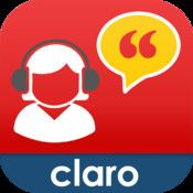 99 cents...ClaroSpeak USA…copy & paste text from any app, such as dropbox.  It will read the text for you.  Choice of voices, & you can save as audio file.
