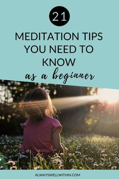 21 Meditation Tips You Need to Know As a Beginner — Always Well Within Meditation Mantra, Benefits Of Mindfulness Meditation, Meditation For Anxiety, Best Meditation, Meditation For Beginners, Meditation Techniques, Relaxation Techniques, Mindfulness Based Stress Reduction, Finding Inner Peace