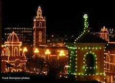 Country Club Plaza in Kansas City at Christmas this is why I love winter in Kansas guys... Just sayin