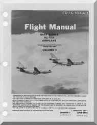 KC-10A   Aircraft    Flight  Manua Vol.2 - T.O. 1C-10(K)A-1 -1982