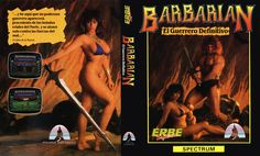 Barbarian - ZX Spectrum cover